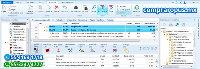 Comprar Opus Distribuidor Autorizado Ecosoft