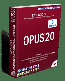 Comprar Opus Módulo 2 Control de Obra 6 Meses