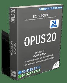 Comprar Opus Módulo 5 CAD Pro 24 Meses
