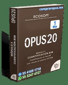 Rentar Opus por 1 mes cuantificador BIM